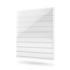 25 мм, прозрачный сотовый поликарбонат Polygal