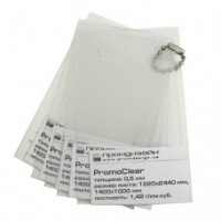 0,3 мм ПВХ прозрачный в PromoClear защитка с одной стороны