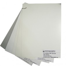 Купить 2,5 мм ПВХ компактний білий PromoPlast