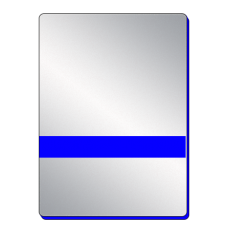 Серебро-синий