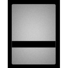 Серебро-чёрный