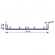 Профіль АЛ-170  для лайтбоксів N0225