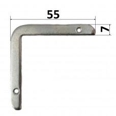 Клик-профиль 25 мм крепеж-угол (угловой коннектор), шт