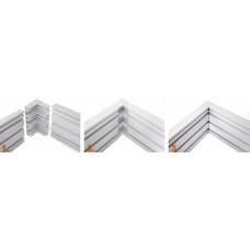 Уголок для Системы 4 - 180 мм (прямой)