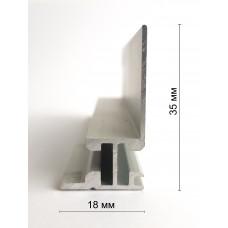 Алюминиевый профиль 18 мм, односторонний