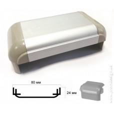 Алюминиевый профиль 80 мм, односторонний