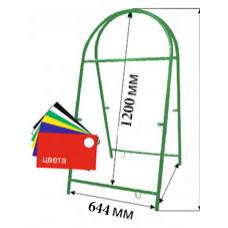 Штендер круглый зеленый 644*1200 мм