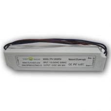 Блок питания 30Вт IP67 2,5А пластик