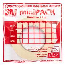 9528 — двусторонний скотч 3М™ (мини-упаковка)