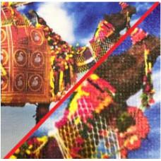 KS 001 Текстиль матовий для несвітлової реклами, 150 гр/кв.м.(сольв, латекс, UV)