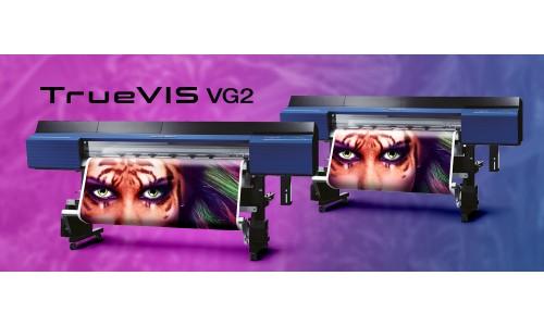 Roland DG оголошує про випуск нового принтера TrueVIS VG2 Series