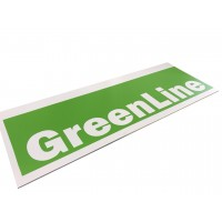 Спінений ПВХ GreenLine білий